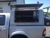 Great condition apart from small bump on the tailgate & N u0026 J Aluminium Canopy